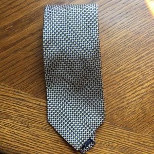 Nautica 100% Silk navy& gold men's neck tie